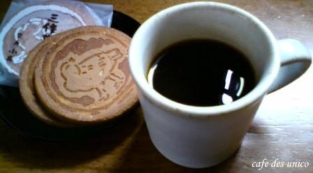 三作せんべいとコーヒーa.jpg